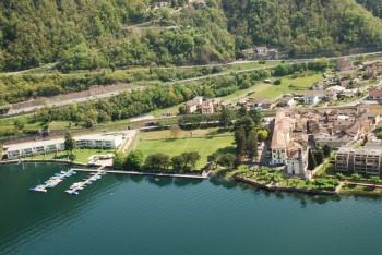 Una veduta di Maroggia, forse il comune più piccolo tra quelli che fanno parte delle Città dell'energia svizzere,http://www.maroggia.ch