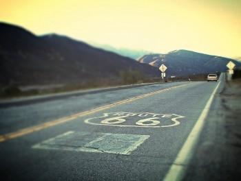 Route 66, pannelli solari, energia pulita