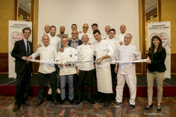 chef italiani, fame, action against hunger