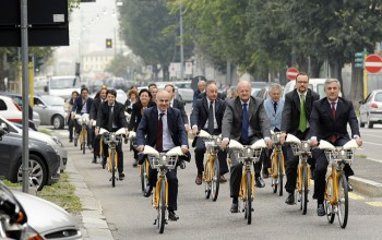 bikemi, milano, bike sharing, Co2