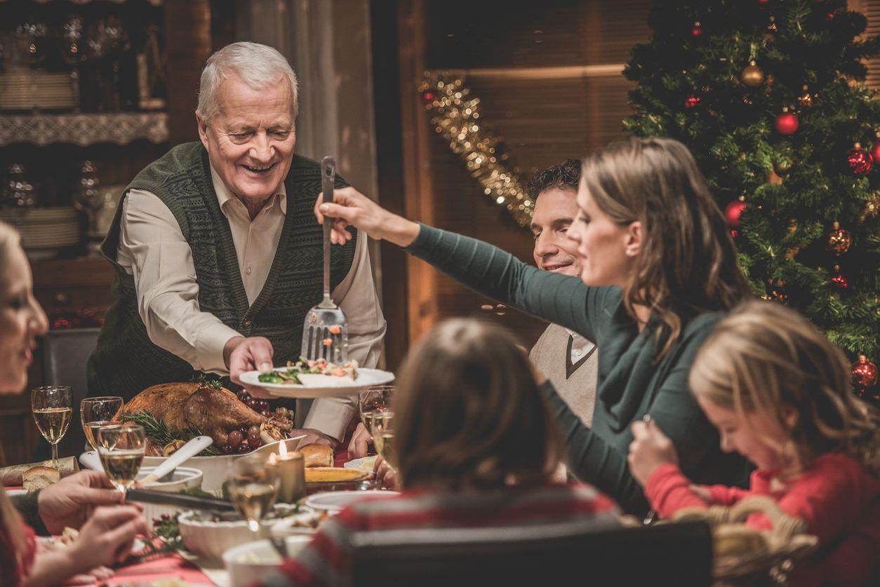 avanzi delle feste, pane, verdure