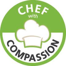 chef with compassion, maltrattamento animali, cucina