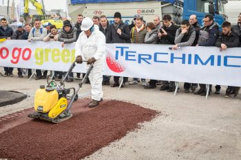 asfalto riciclato, strada sostenibile, iterchimica