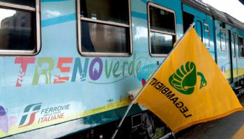 treno verde, economia circolare, legambiente, fs