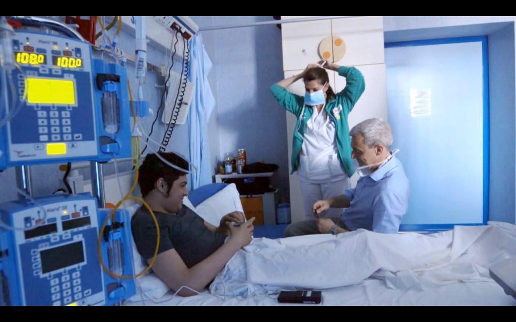 tumori infantili sofferenza sfide Raitre pietismo pazienti ospedale pediatrico Bambin Gesù di Roma medici malattia I ragazzi del Bambino Gesù dolore braccialetti rossi