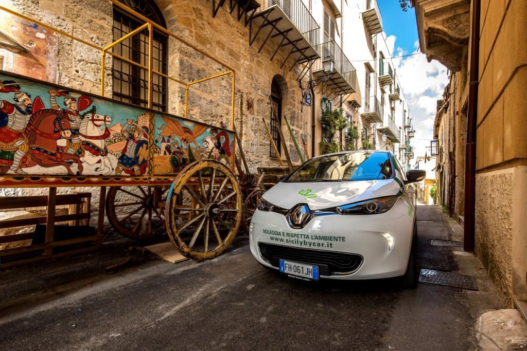 eco tour sicilia, mobilita elettrica
