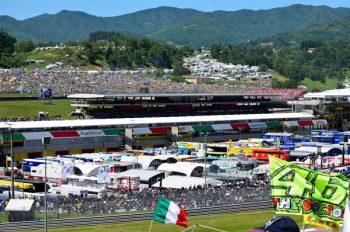 Valentino Rossi spreco alimentare sport raccolta differenziata motociclismo KiSS Mugello impatto ambientale FIA disabilità Autodromo Mugello