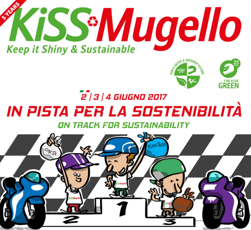 KiSS, Mugello, sostenibilità, raccolta differenziata