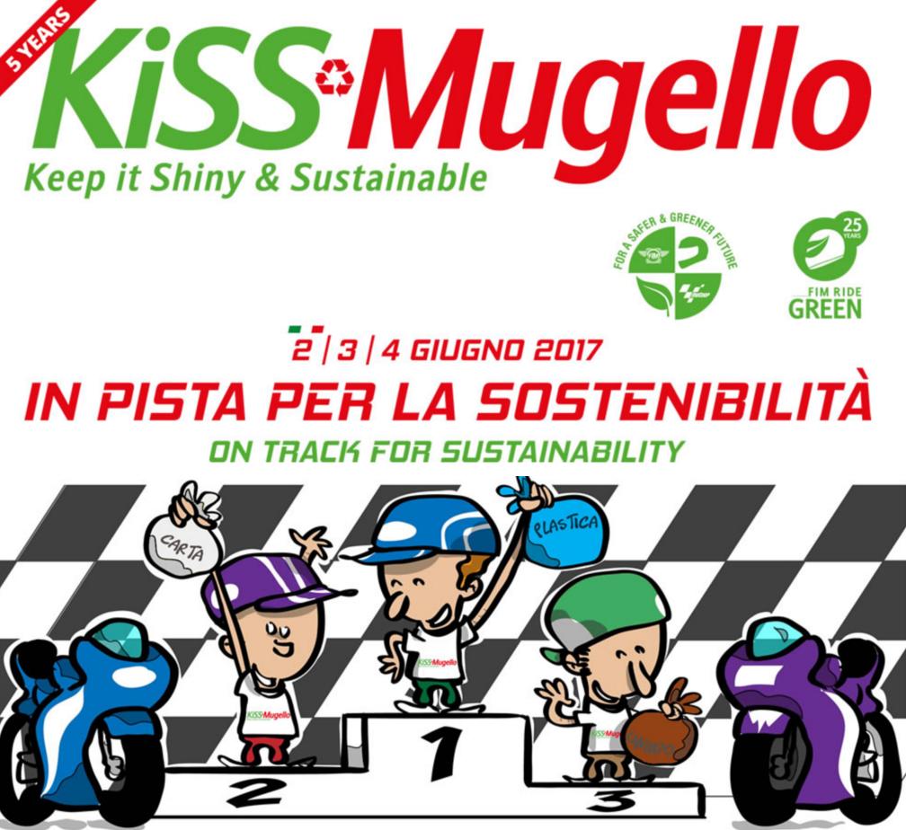 KiSS, Mugello, sostenibilità, raccolta differenziata