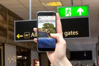 app, smartphone, viaggio sostenibile