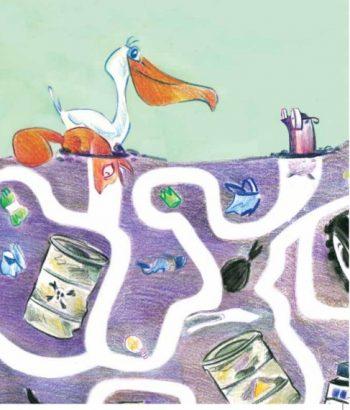 ecologia, bambini, fumetto, rizzo