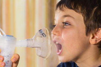 infezione delle vie respiratorie, asma