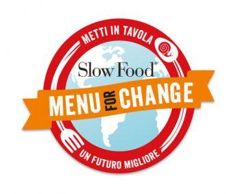 menu for change, slow food, clima
