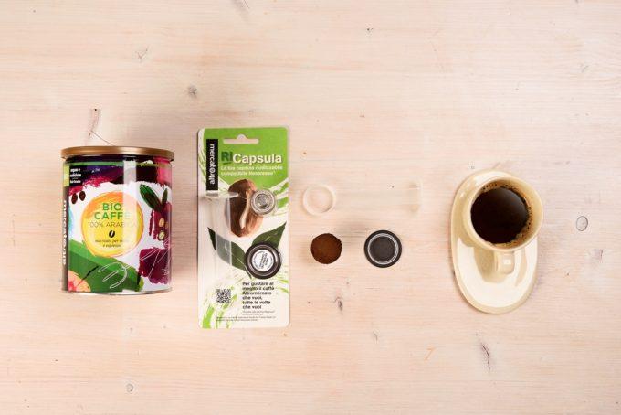 capsula riciclabile caffè altromercato