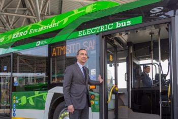 milano bus elettrico, atm, mobilita