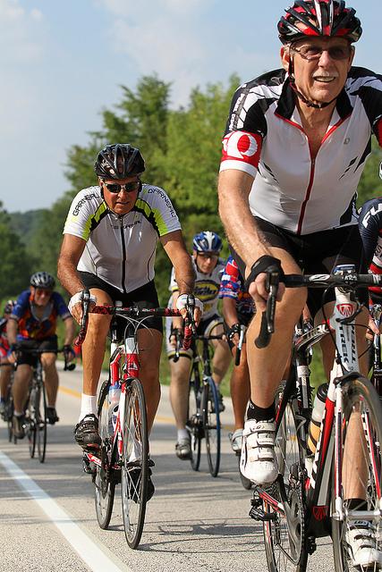 ciclismo, invecchiamento, andropausa