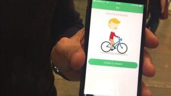 jojob, bici, piedi-app, carpooling