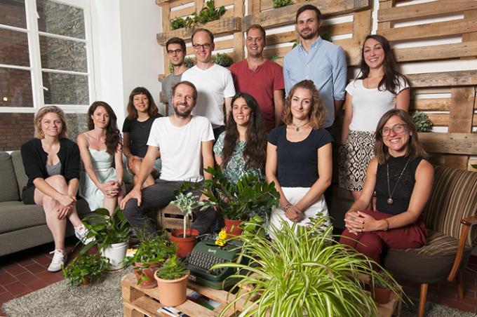Ecosia, il team