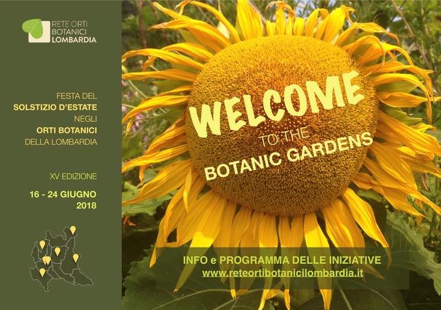 solstizio estate orti botanici lombardia