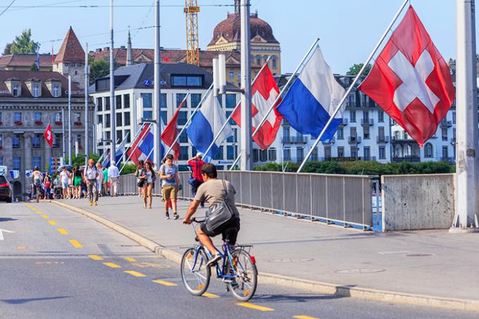 svizzera, bicicletta, costituzione, referendum