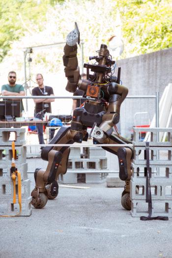 robot, quadrupede, IIT, soccorso, umanoide