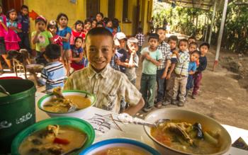ristoranti contro la fame, azione contro la fame