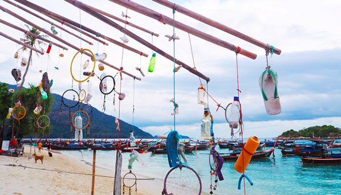 fishing for litter, plastica, mari, ecomondo