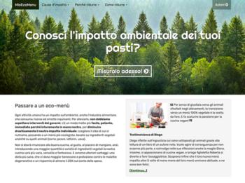 impatto ambientale, dieta, mioecomenu