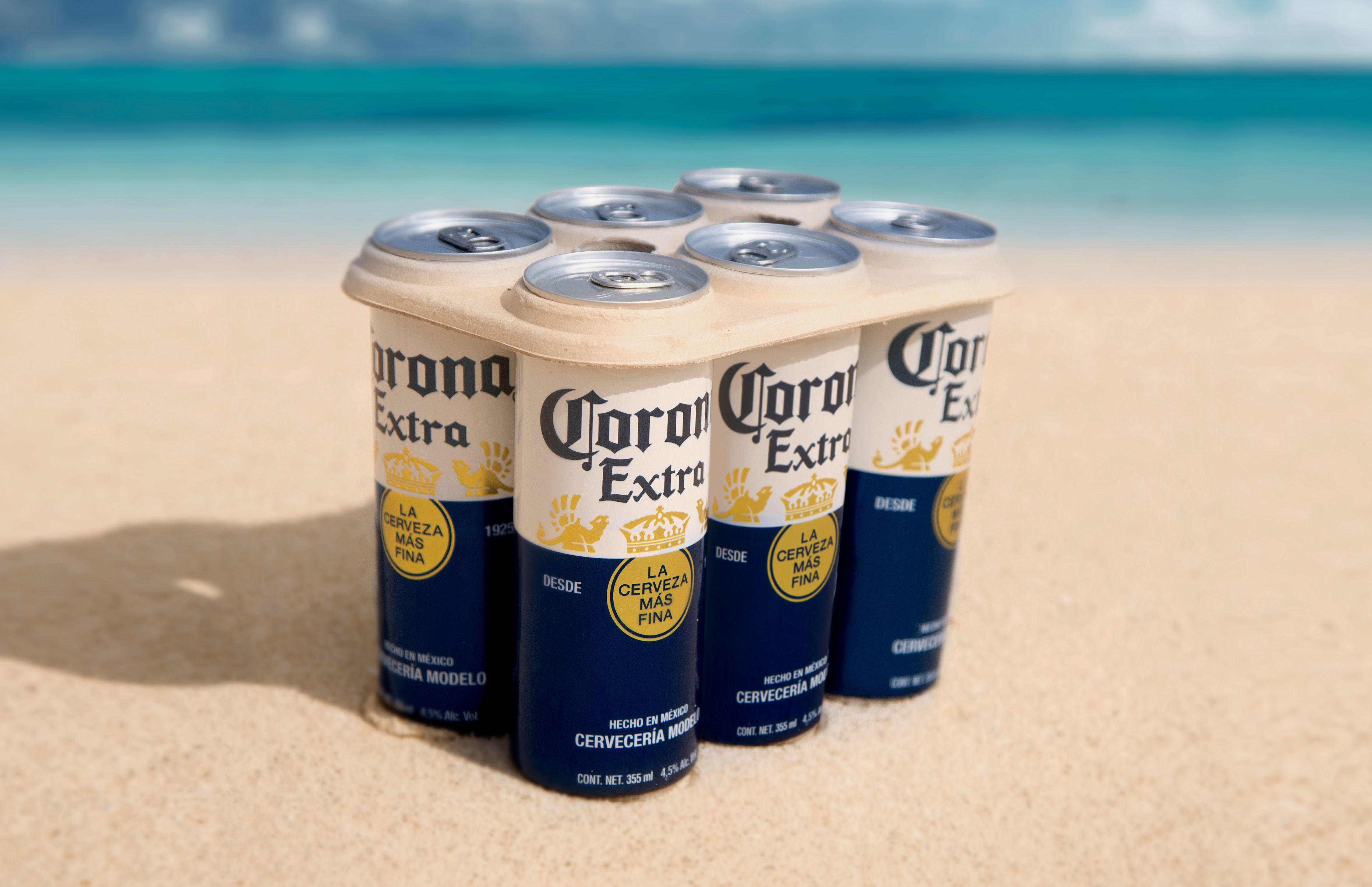 corona, birra, anelli plastic-free, plastica, packaging