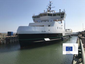 traghetti elettrici, mobilita, emissionico2-ellen