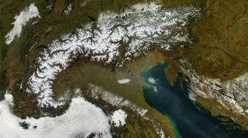 mappe, neve, cambiamenti climatici, eurac