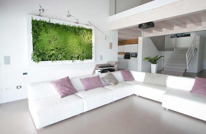 quadro verde, un bellissimo regalo vegetale