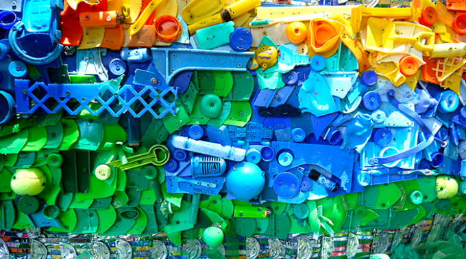 riciclo plastica, italia, ue, corepla