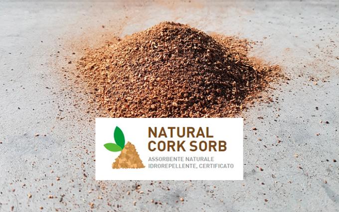 natural cork sorb, sughero, inquinanti