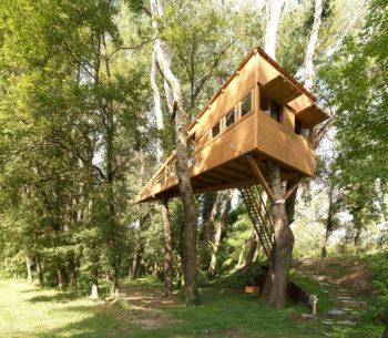 case sugli alberi, jove, turismo emozionale