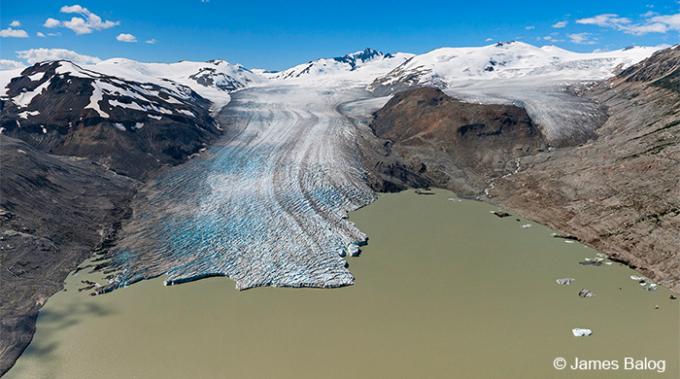 ghiacciaio Bridge cambiamento climatico