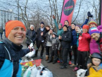 plogging, corsa, Erik Ahlström, rifiuti
