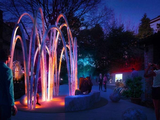 The Circular Garden