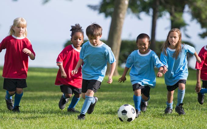 Bambini e sport: il calcio