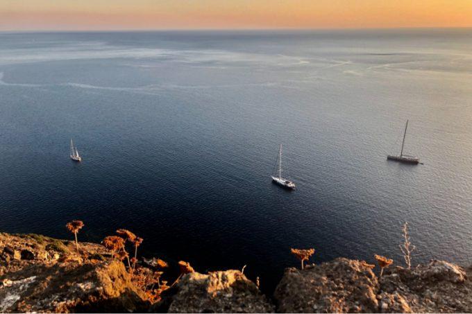 Pantelleria, vista sul mare