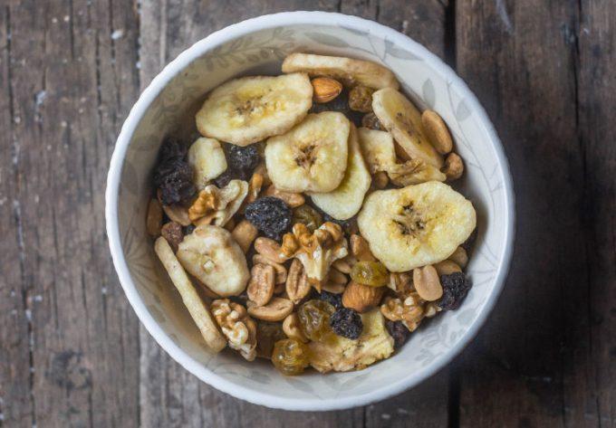Frutta secca a colazione