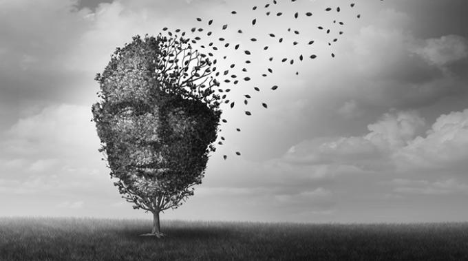 depressione: un'illustrazione