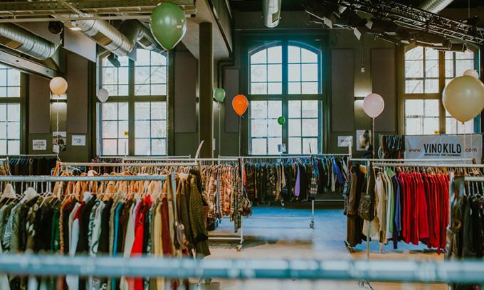 vinokilo, moda vintage, riuso, tessile