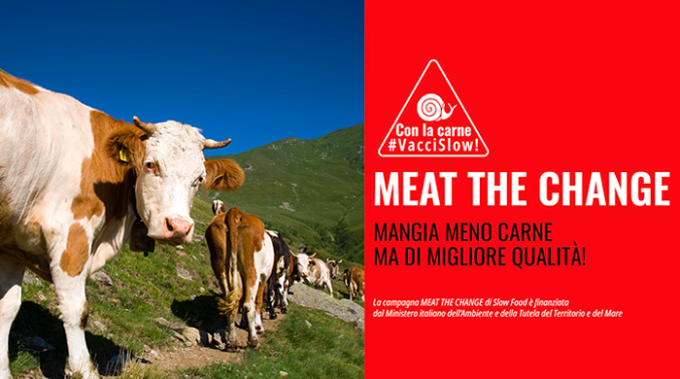 meat the change, consumo consapevole, carne, slow food