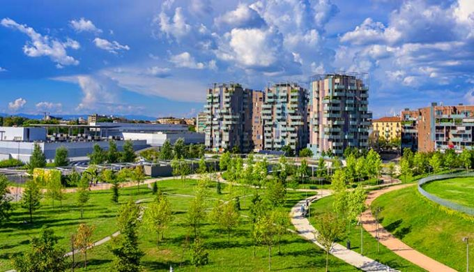 citta, alberi, verde urbano, treecity