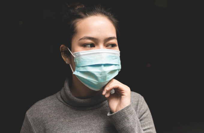 Mascherina per malattie infettive