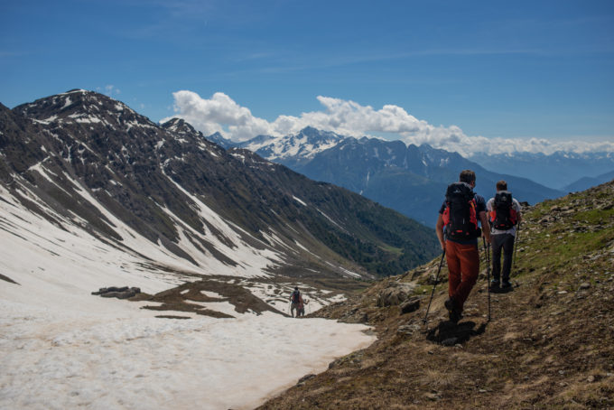 sentiero italia, trekking in quota