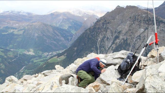 Una misurazione della Supsi sul ghiacciaio roccioso nel Canton Ticino