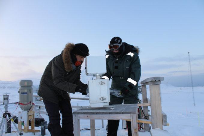La base italiana alle Svalbard