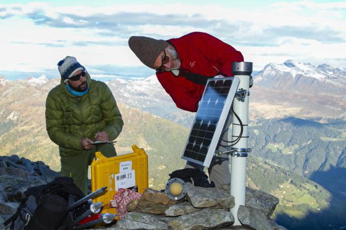 Misurazioni della SUPSI sul ghiacciaio roccioso